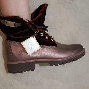 Limited edition timberland booties